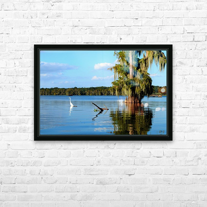 Swim or Not HD Sublimation Metal print with Decorating Float Frame (BOX)