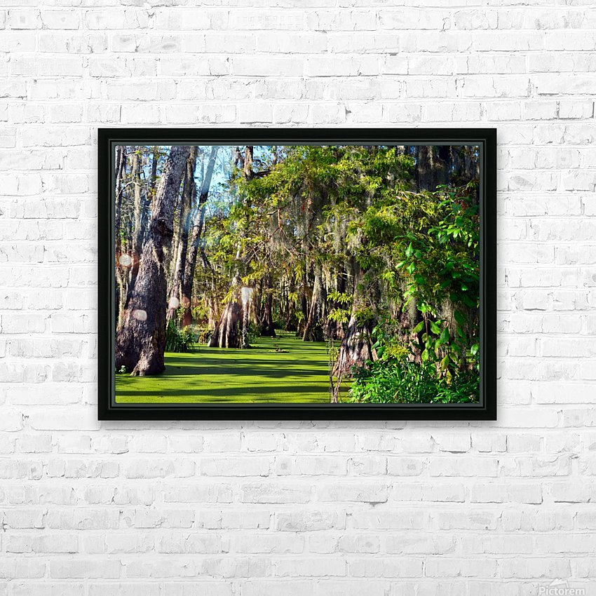 Travel My Path HD Sublimation Metal print with Decorating Float Frame (BOX)