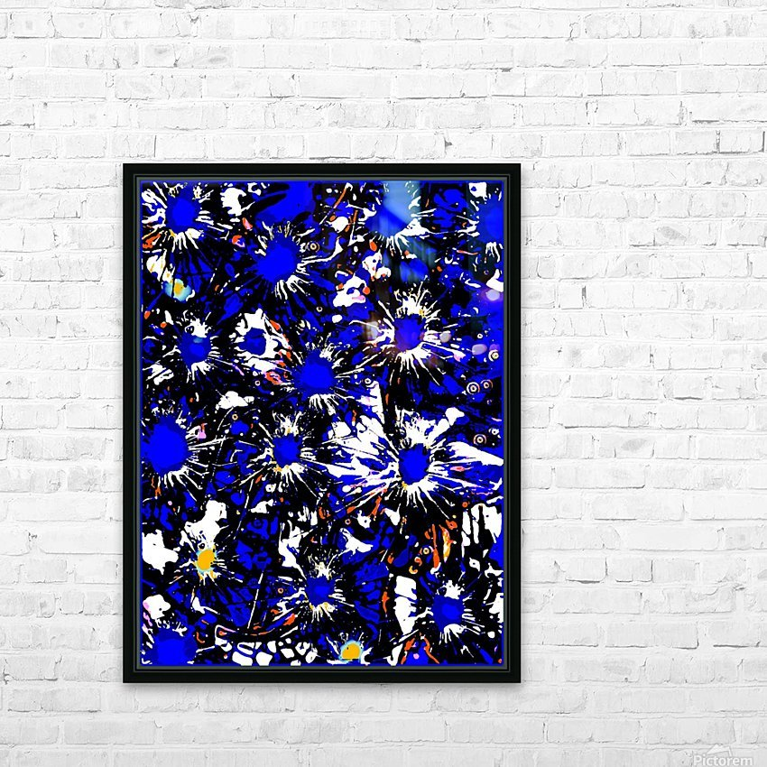 A Cluster of Emotions HD Sublimation Metal print with Decorating Float Frame (BOX)