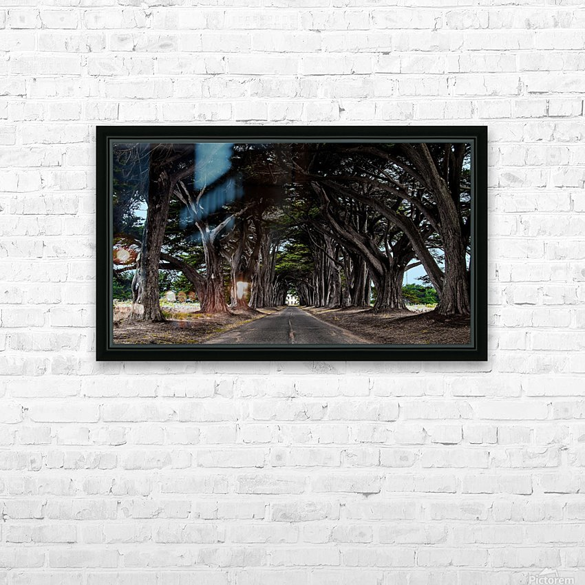 No Light At The End of Tunnel HD Sublimation Metal print with Decorating Float Frame (BOX)