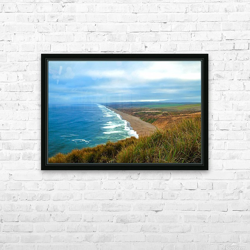 End Of World HD Sublimation Metal print with Decorating Float Frame (BOX)