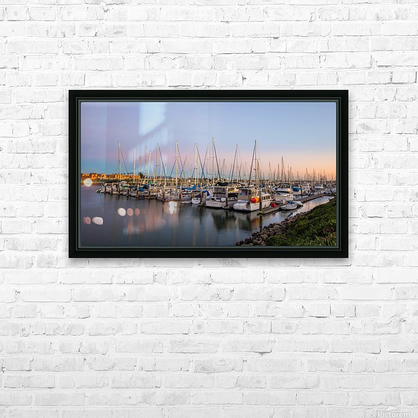 Full House HD Sublimation Metal print with Decorating Float Frame (BOX)