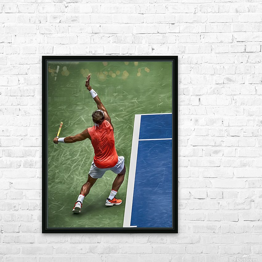NADAL HD Sublimation Metal print with Decorating Float Frame (BOX)