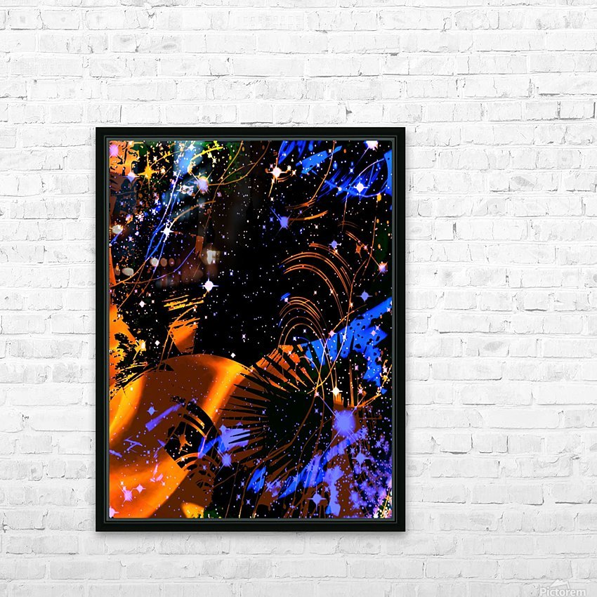 The Imaginary Planets Series 6 HD Sublimation Metal print with Decorating Float Frame (BOX)