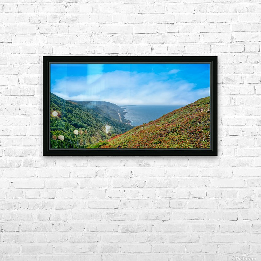 Hikers Reward HD Sublimation Metal print with Decorating Float Frame (BOX)
