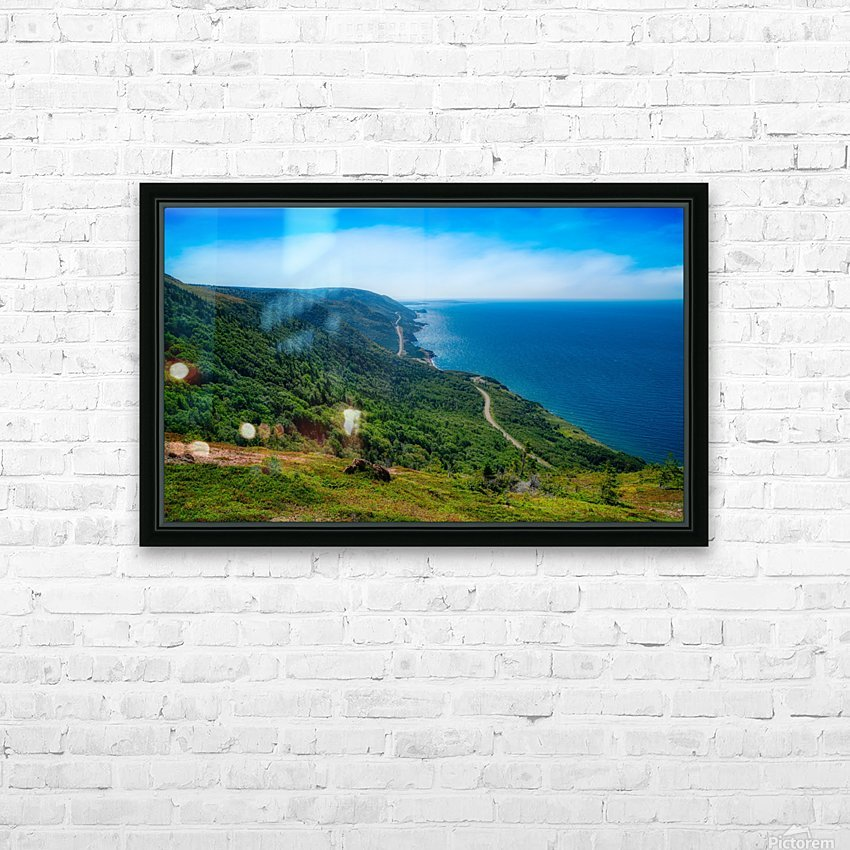 Cap Rouge Vista HD Sublimation Metal print with Decorating Float Frame (BOX)