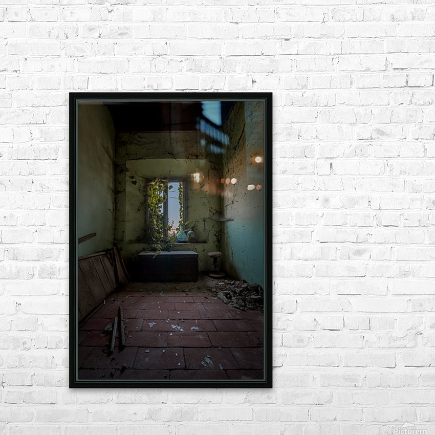 Abandoned Chest HD Sublimation Metal print with Decorating Float Frame (BOX)