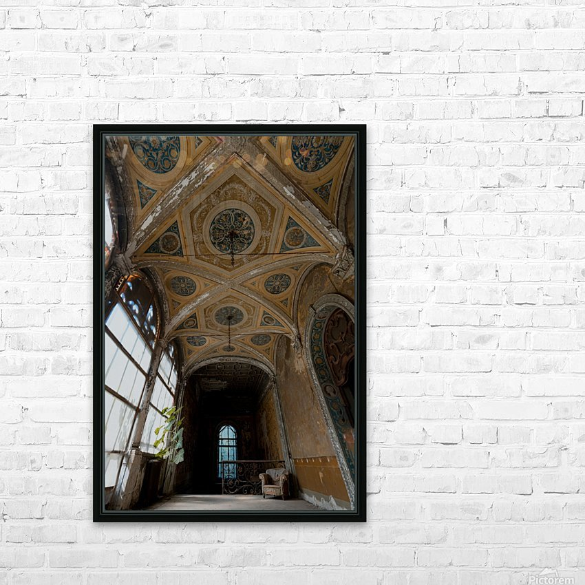 Abandoned Chateau FairyTale HD Sublimation Metal print with Decorating Float Frame (BOX)