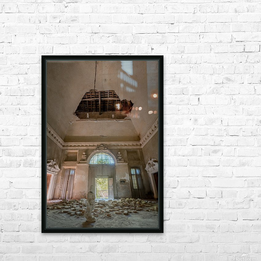 Abandoned Villa Decaying HD Sublimation Metal print with Decorating Float Frame (BOX)