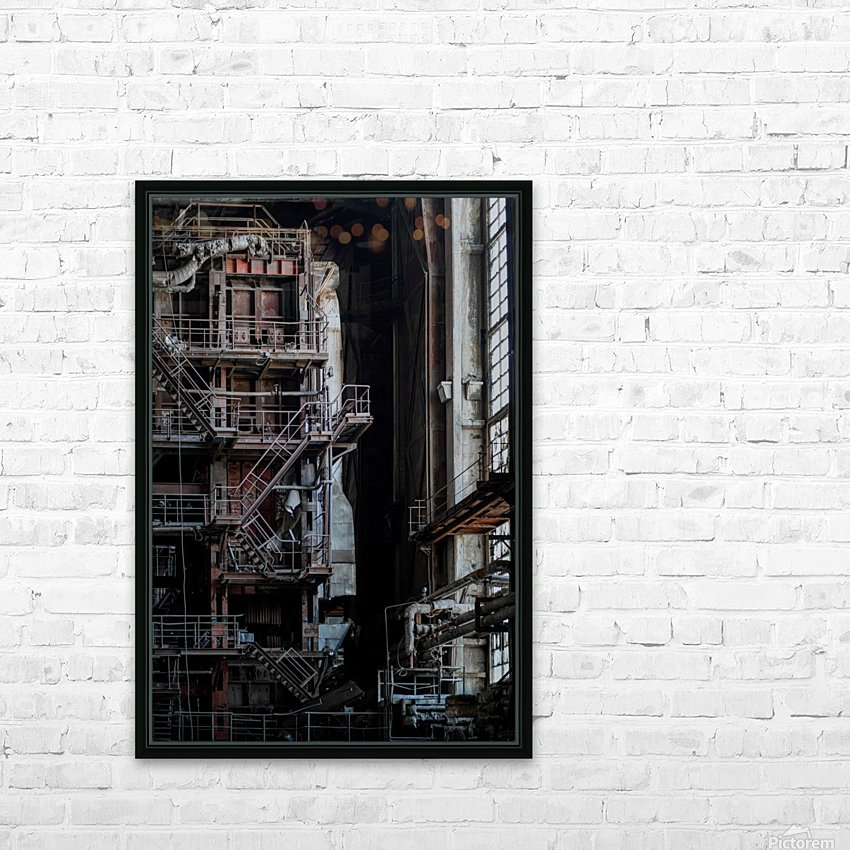 Abandoned Blade Runner Factory HD Sublimation Metal print with Decorating Float Frame (BOX)