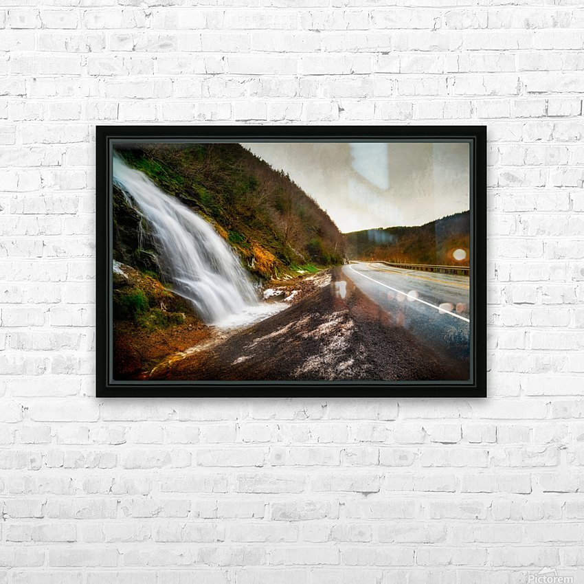 Niagara on the French HD Sublimation Metal print with Decorating Float Frame (BOX)