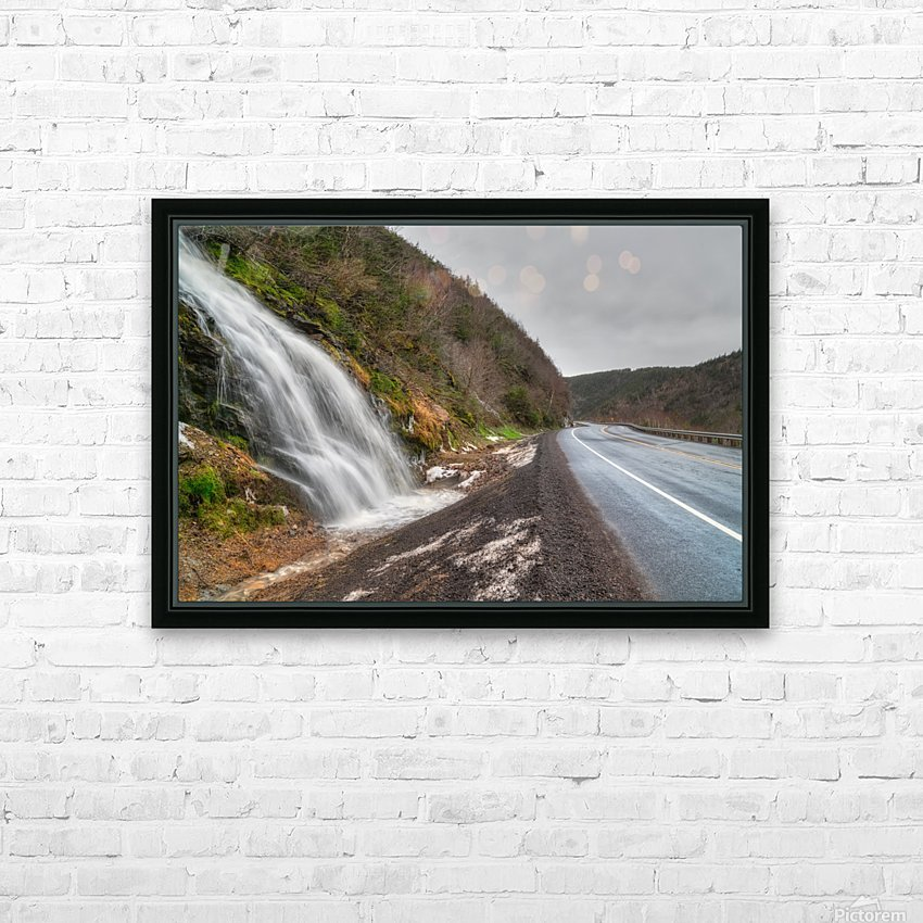 Niagara on the French - CBHNP HD Sublimation Metal print with Decorating Float Frame (BOX)