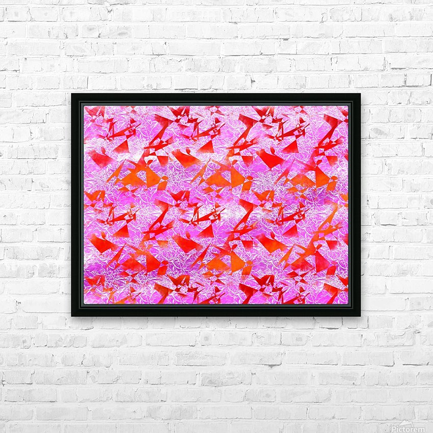 Ice In Sunshine 1 HD Sublimation Metal print with Decorating Float Frame (BOX)
