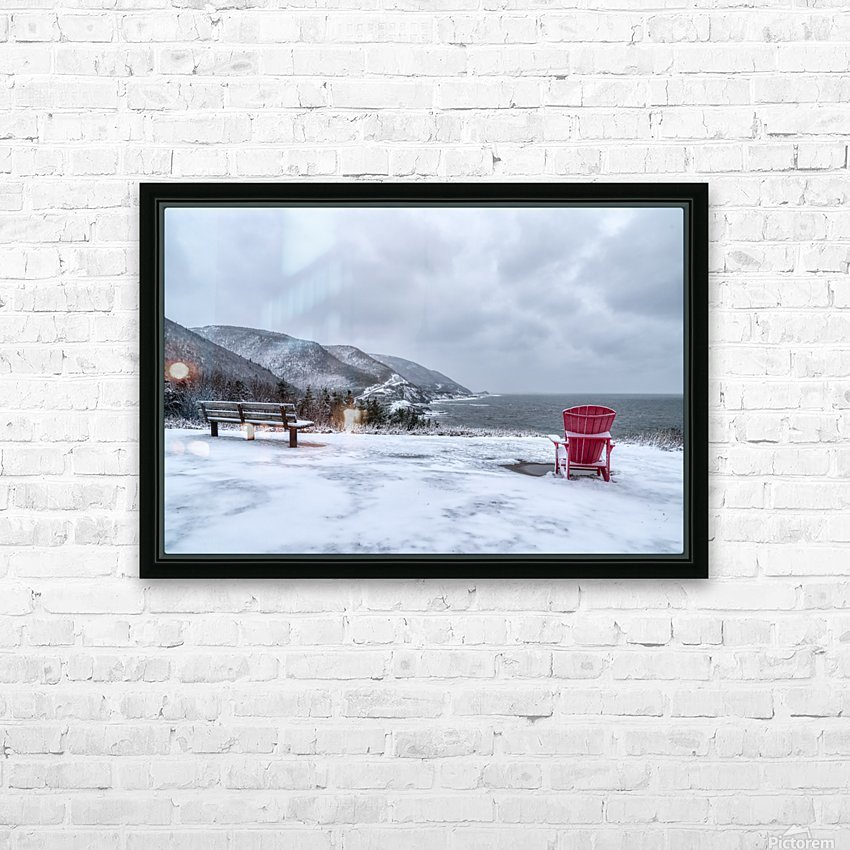 Winter in the CBHNP HD Sublimation Metal print with Decorating Float Frame (BOX)