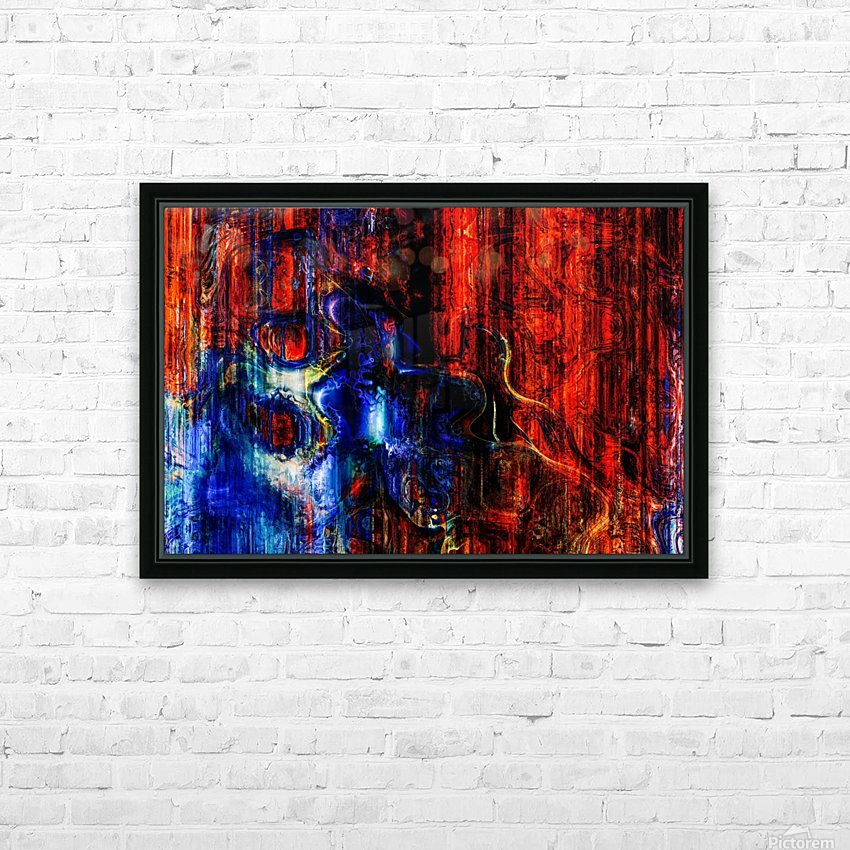 Velozia by Jean François Dupuis  HD Sublimation Metal print with Decorating Float Frame (BOX)