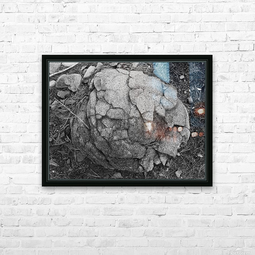 minor world falling apart HD Sublimation Metal print with Decorating Float Frame (BOX)