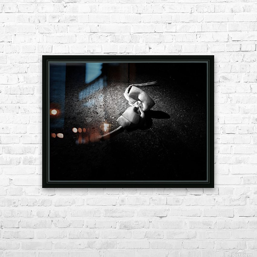 gets lost and cries for friends HD Sublimation Metal print with Decorating Float Frame (BOX)
