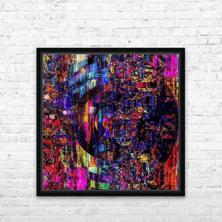 Fargo coloris  HD Sublimation Metal print with Decorating Float Frame (BOX)
