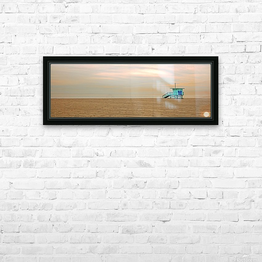 Beachbum blues HD Sublimation Metal print with Decorating Float Frame (BOX)