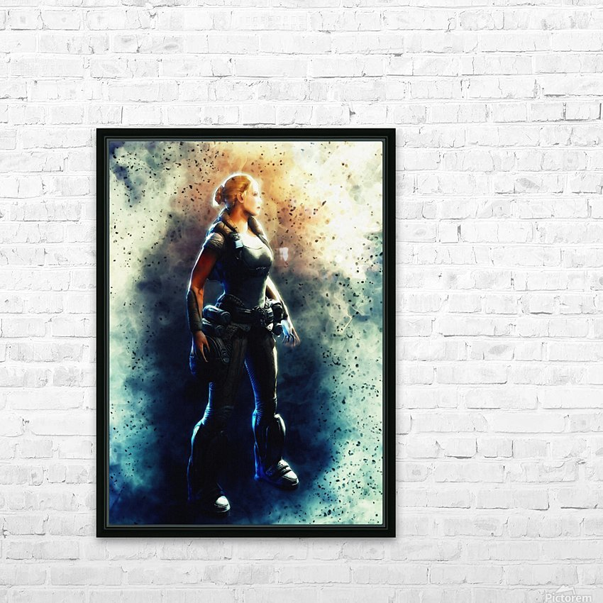 Anya Stroud HD Sublimation Metal print with Decorating Float Frame (BOX)