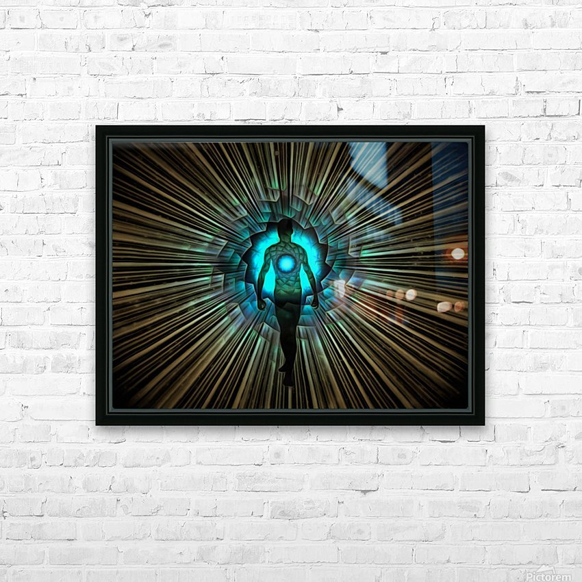 Aura or Soul HD Sublimation Metal print with Decorating Float Frame (BOX)