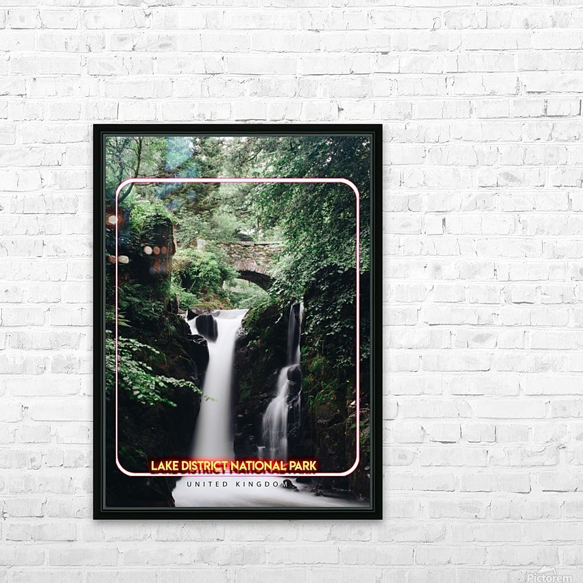Lake District National Park, United Kingdom HD Sublimation Metal print with Decorating Float Frame (BOX)