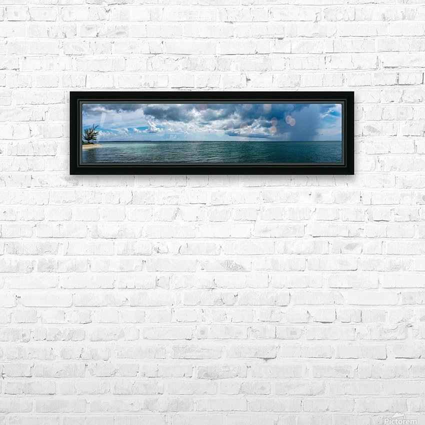 View of Georgetown  from Starfish Point in Grand Cayman HD Sublimation Metal print with Decorating Float Frame (BOX)
