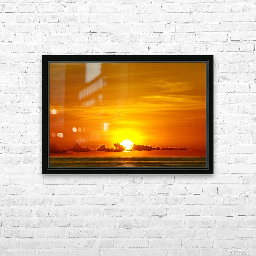 Cayman Sky Art HD Sublimation Metal print with Decorating Float Frame (BOX)