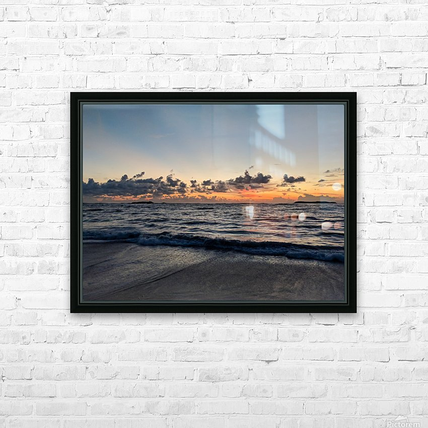 Eleuthera Glow HD Sublimation Metal print with Decorating Float Frame (BOX)