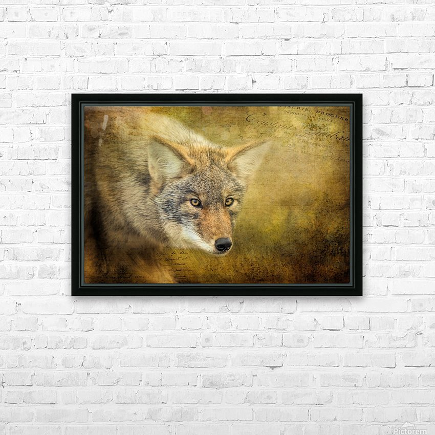 The Hunt HD Sublimation Metal print with Decorating Float Frame (BOX)