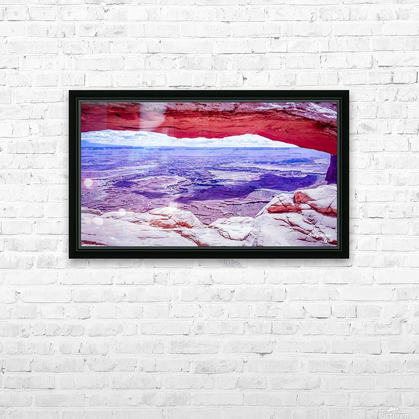 Mesa Arch Canyonlands HD Sublimation Metal print with Decorating Float Frame (BOX)