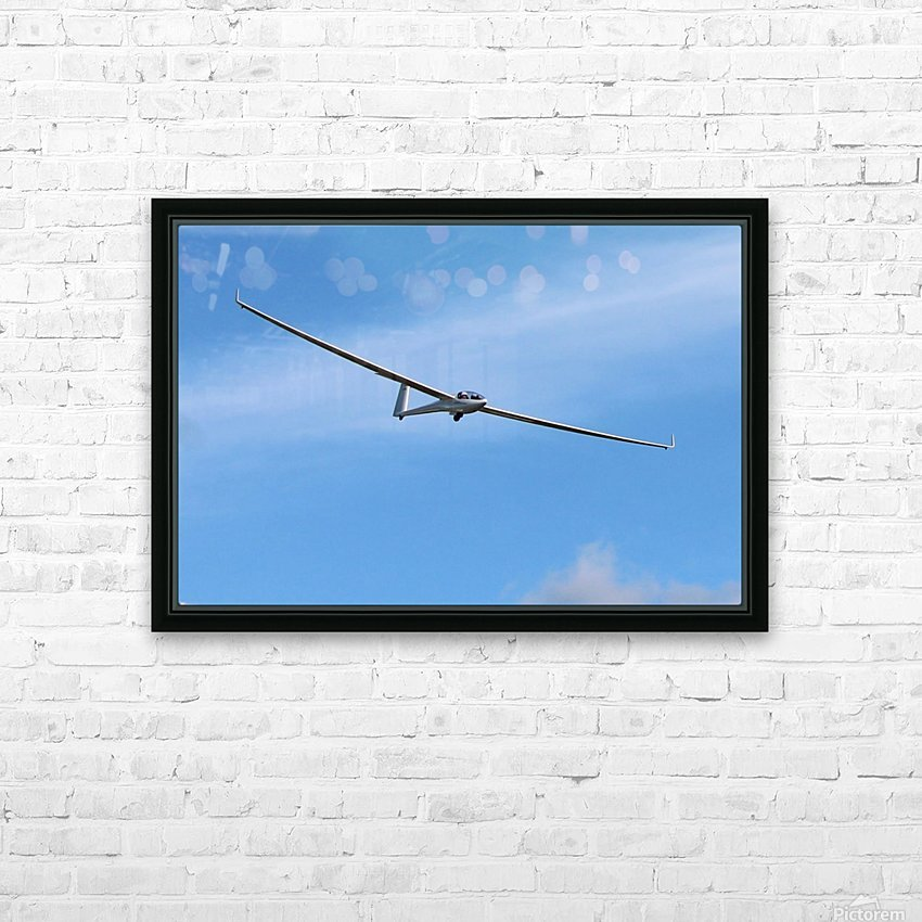 Riding the Wind HD Sublimation Metal print with Decorating Float Frame (BOX)