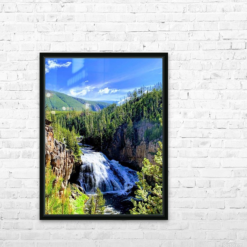 Majestic Waters HD Sublimation Metal print with Decorating Float Frame (BOX)