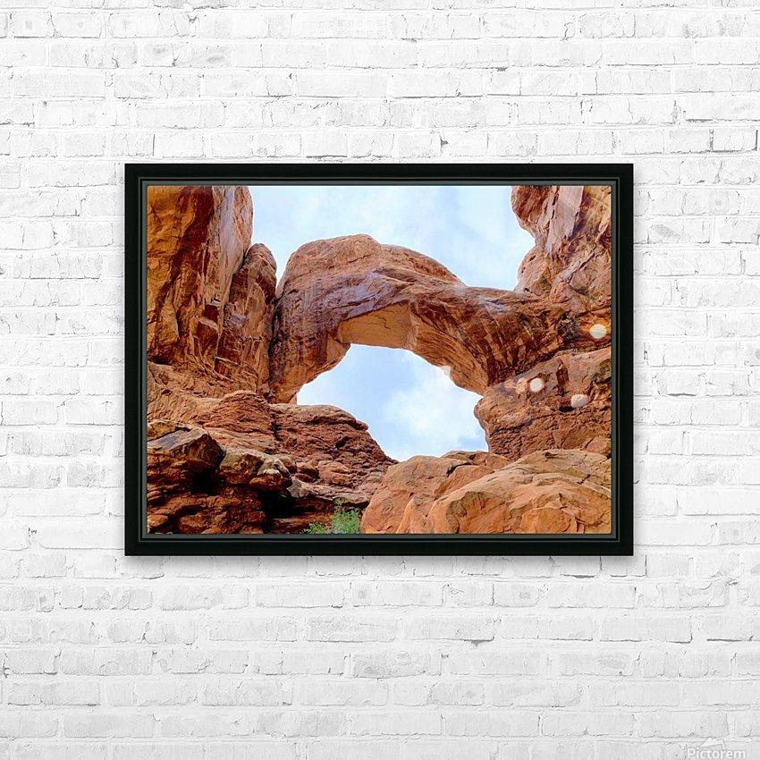 Grand Arch HD Sublimation Metal print with Decorating Float Frame (BOX)
