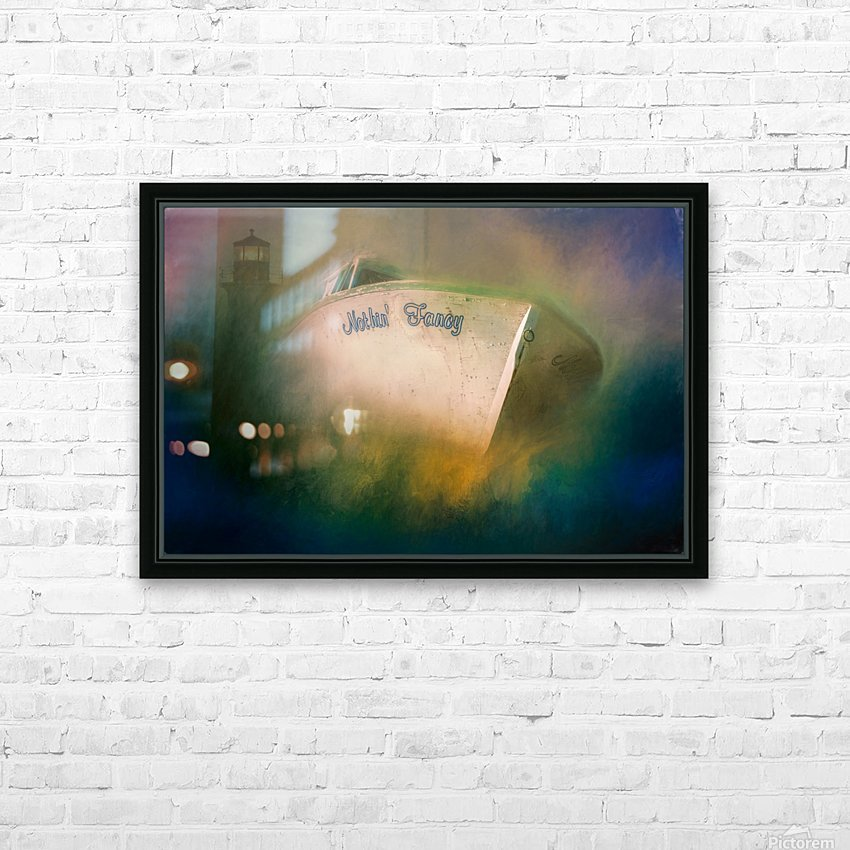Nothin Fancy HD Sublimation Metal print with Decorating Float Frame (BOX)