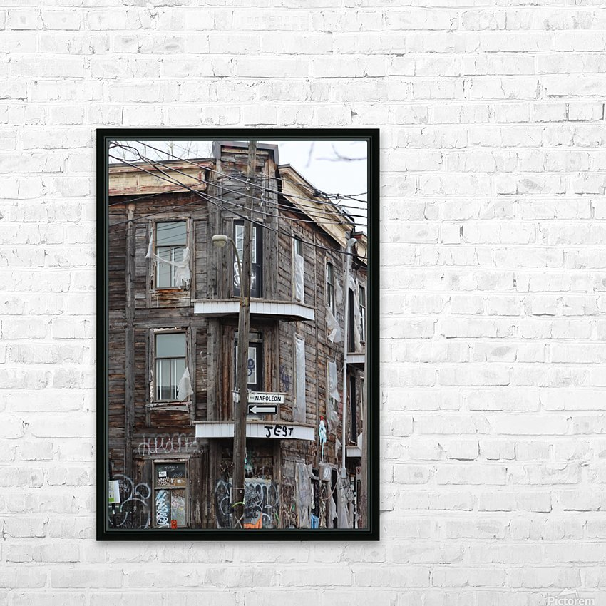 Corner Coloniale and Napoleon - 2018 HD Sublimation Metal print with Decorating Float Frame (BOX)