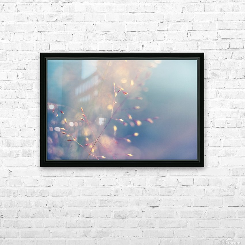 Spikelet HD Sublimation Metal print with Decorating Float Frame (BOX)