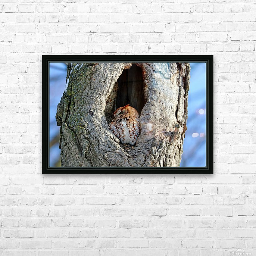 An Eye On You HD Sublimation Metal print with Decorating Float Frame (BOX)