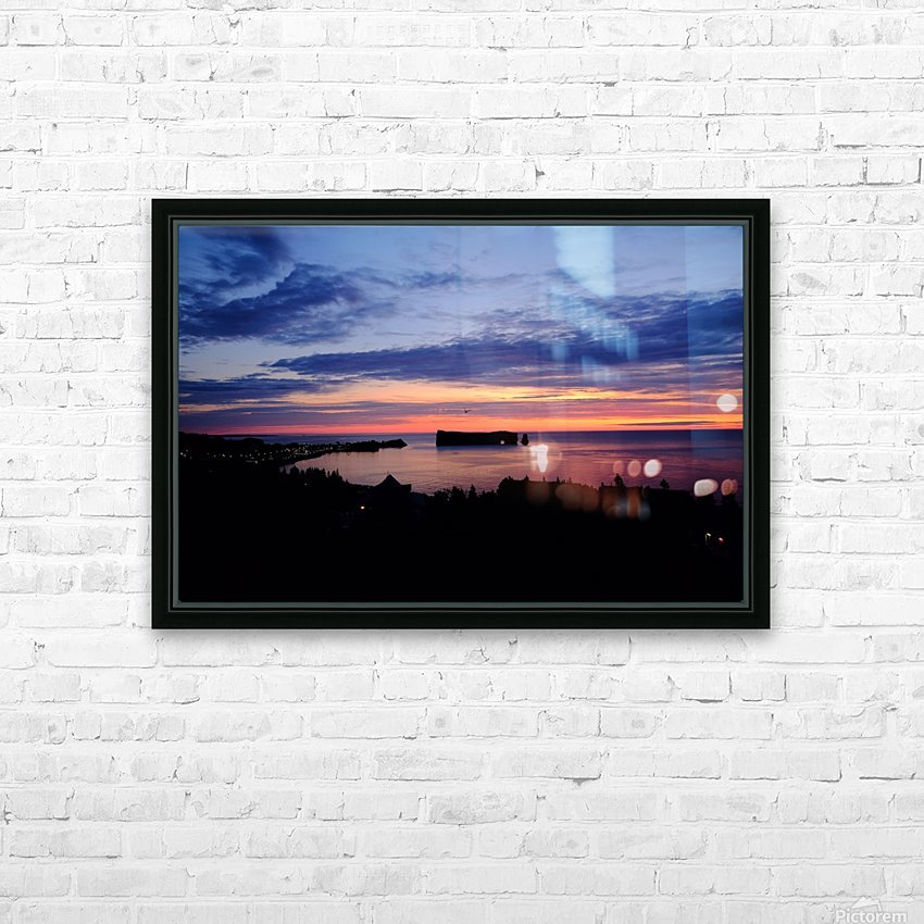 Le rocher Perce HD Sublimation Metal print with Decorating Float Frame (BOX)