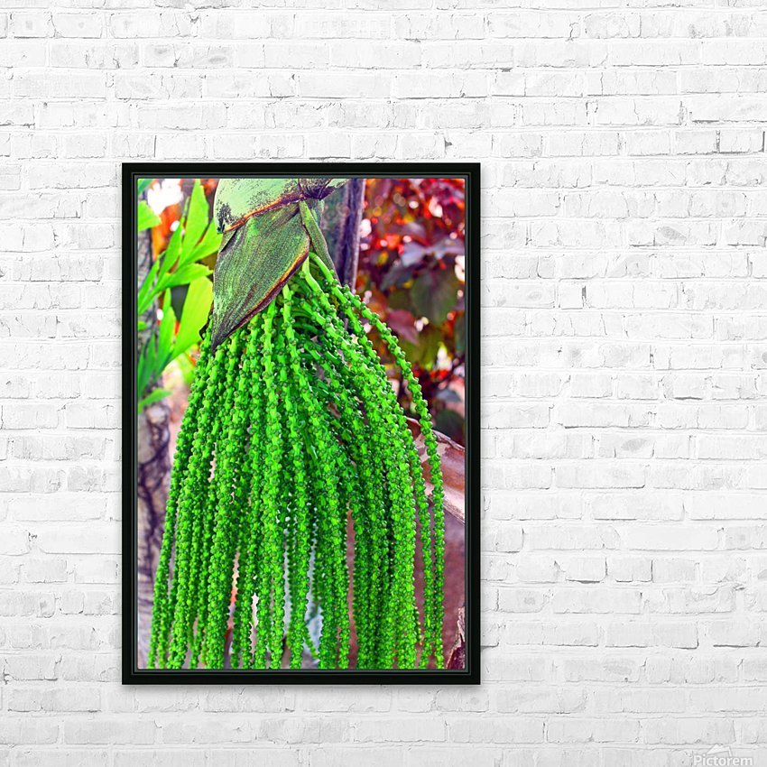 Plant Dreads HD Sublimation Metal print with Decorating Float Frame (BOX)