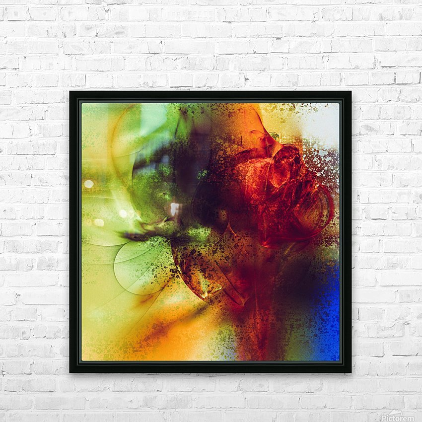 Dazz by Jean-Francois Dupuis HD Sublimation Metal print with Decorating Float Frame (BOX)
