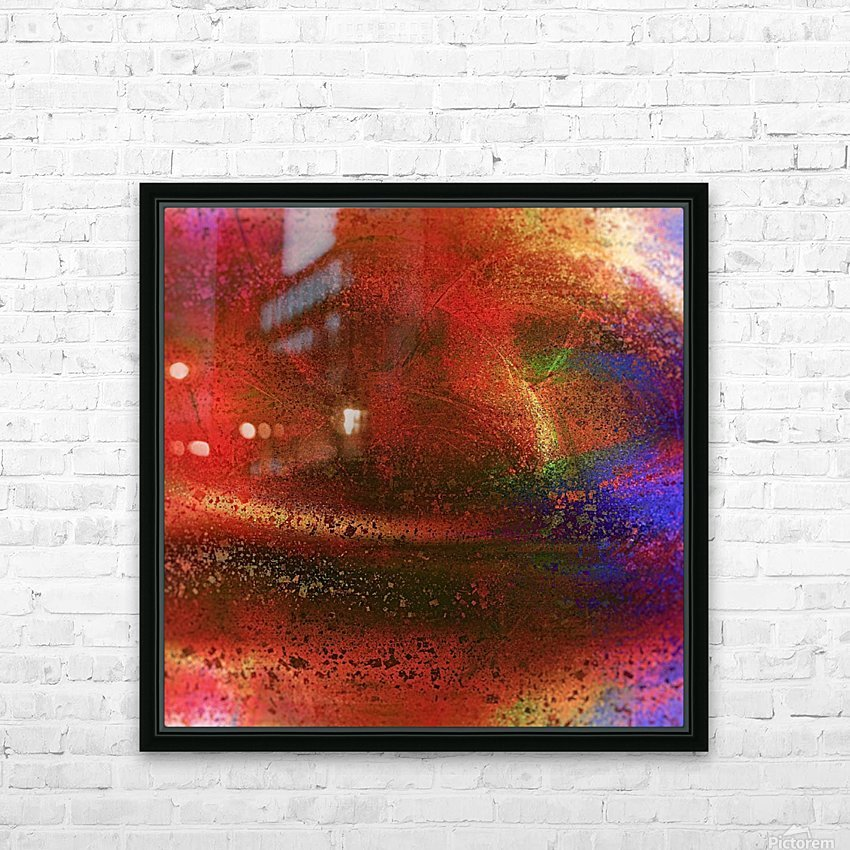 Targetor HD Sublimation Metal print with Decorating Float Frame (BOX)