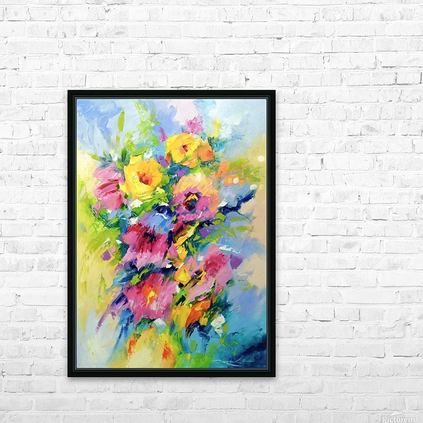 Mood HD Sublimation Metal print with Decorating Float Frame (BOX)