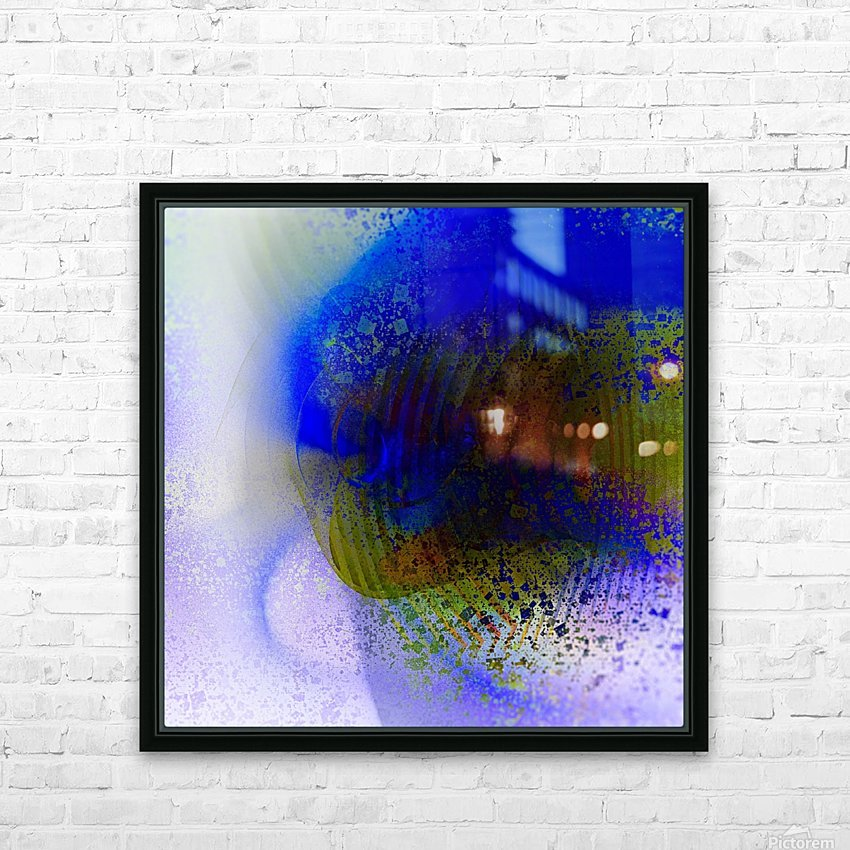 Azitum 2 HD Sublimation Metal print with Decorating Float Frame (BOX)