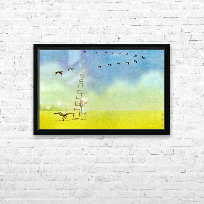 summer s end HD Sublimation Metal print with Decorating Float Frame (BOX)