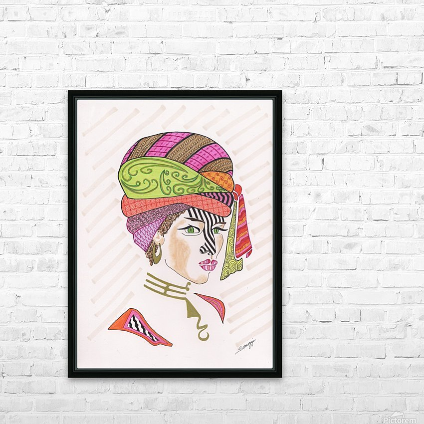 A Woman of a Different Stripe HD Sublimation Metal print with Decorating Float Frame (BOX)