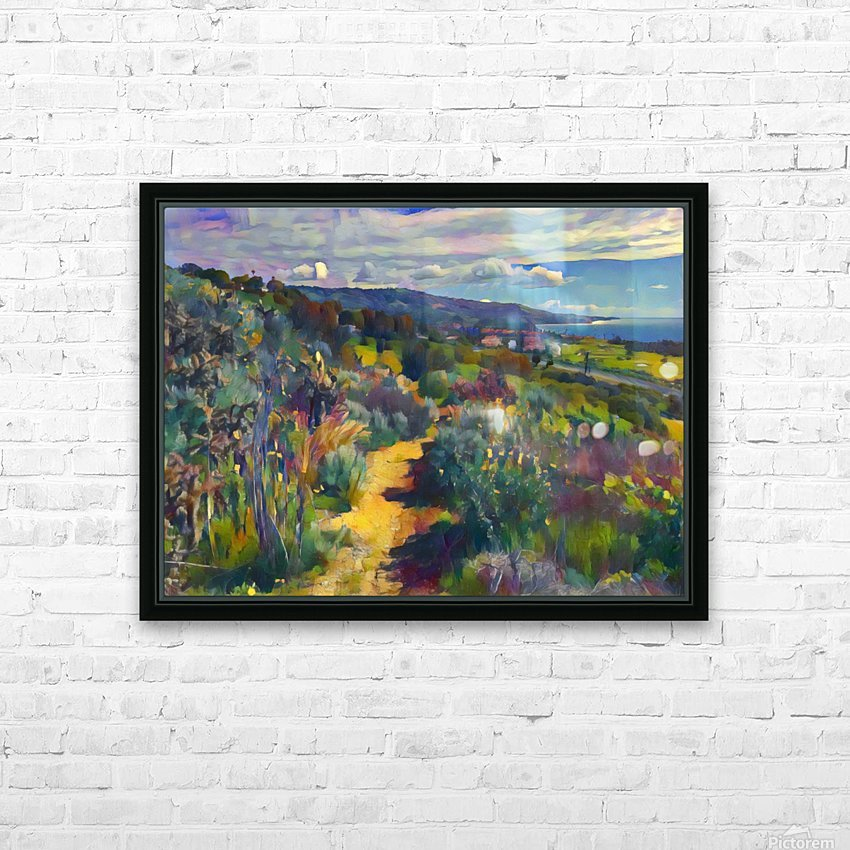 California spring hike HD Sublimation Metal print with Decorating Float Frame (BOX)