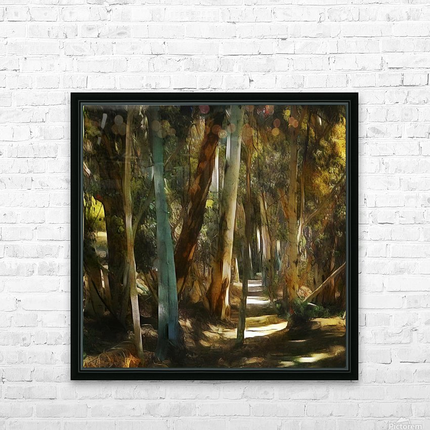 Mystical forrest HD Sublimation Metal print with Decorating Float Frame (BOX)