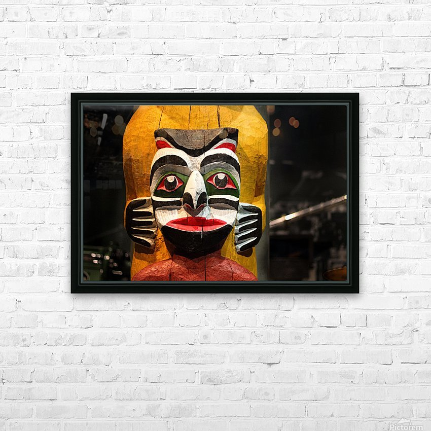 Nitotem HD Sublimation Metal print with Decorating Float Frame (BOX)