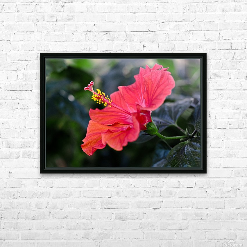 Clear Cutting HD Sublimation Metal print with Decorating Float Frame (BOX)
